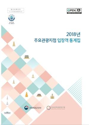 2018 주요관광지점입장객통계